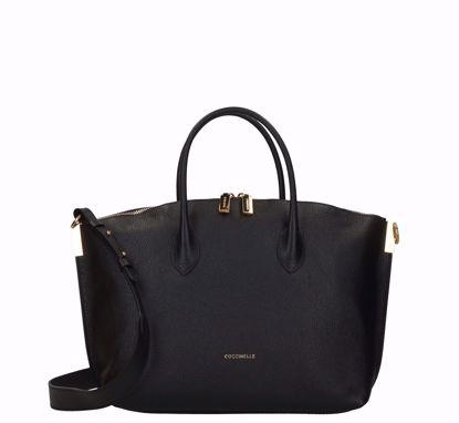 Coccinelle borsa a mano M Estelle nero, Coccinelle bag M Estelle black