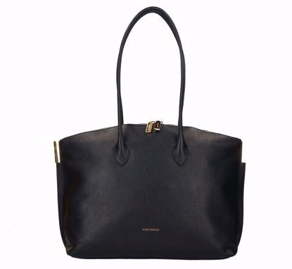 Coccinelle shopping bag Estelle black, Coccinelle borsa shopping Estelle nero