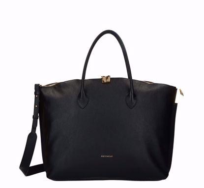 Coccinelle borsa a mano L Estelle nero, Coccinelle bag L Estelle black