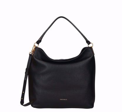 Coccinelle borsa a sacca Estelle nero, Coccinelle bag Estelle black
