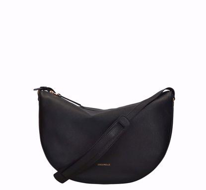Coccinelle borsa a tracolla Lea nero, Coccinelle crossbody bag Lea black