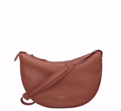 Coccinelle borsa a tracolla Lea cinnamon, Coccinelle crossbody bag Lea cinnamon