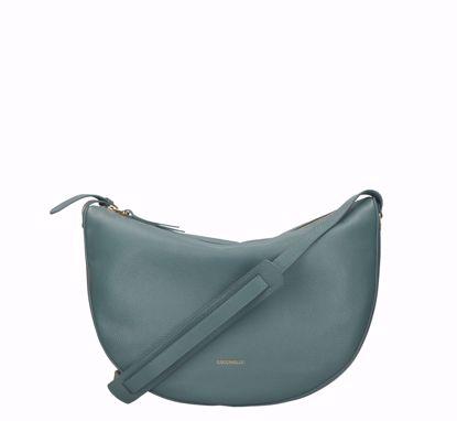 Coccinelle crossbody bag Lea shark grey, Coccinelle borsa a tracolla Lea shark grey