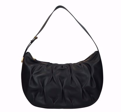 Coccinelle bag Marquise Goodie black, Coccinelle borsa a sacca Marquise Goodie nero