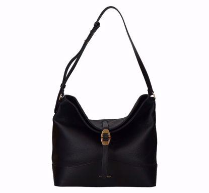 Coccinelle borsa a sacca Josephine nero, Coccinelle bag Josephine black