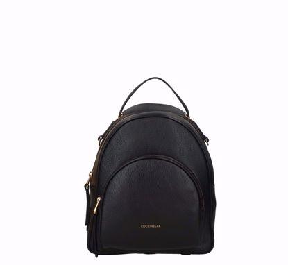 Coccinelle zaino Lea nero, Coccinelle backpack Lea Black