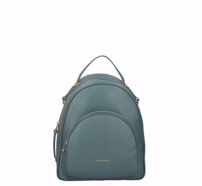 Coccinelle backpack Lea shark grey , Coccinelle zaino Lea shark grey