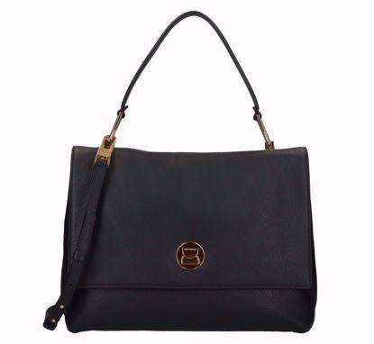 Coccinelle Liya large bag black, Coccinelle Liya large borsa a mano nero