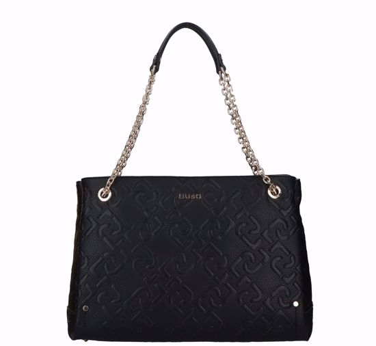 Liu Jo shopping bag Affidabile black, borsa shopping Affidabile nero