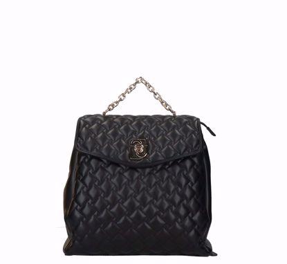 Liu Jo backpack Piacente black, Liu Jo zaino Piacente nero