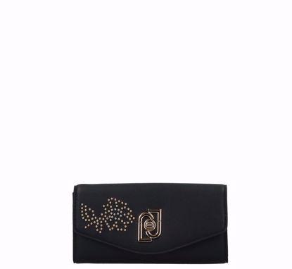 Liu Jo woman wallet Piacente black