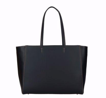 Furla shopping bag Regina black, Furla borsa shopping Regina nero