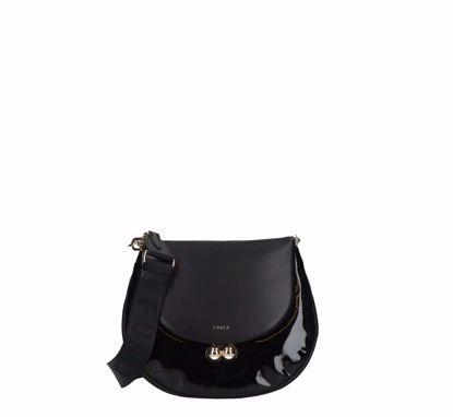 Furla crossbody bag Portagioia black, Furla borsa a tracolla Portagioia nero
