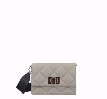 Furla 1927 Soft crossbody bag mini marmo, Furla 1927 Soft borsa a tracolla mini marmo