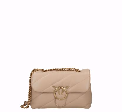 pinko Love Bag Puff Maxi Quilt Classic beige