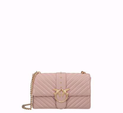 Pinko Love Bag Icon V Quilt - Cipria