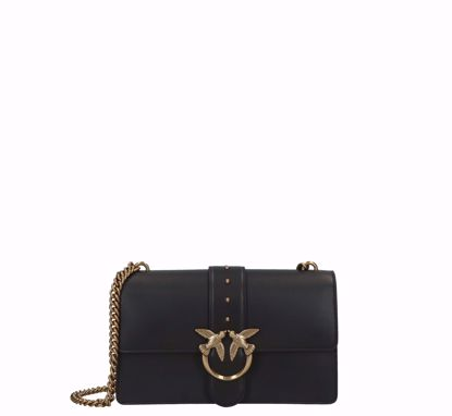 Pinko Love Bag Simply Icon black gold