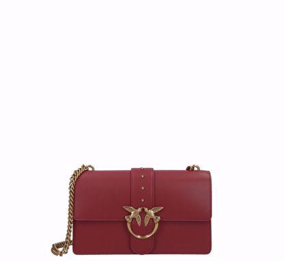 Pinko Love Bag Simply Icon dark red, Pinko Love Bag Simply Icon dark red