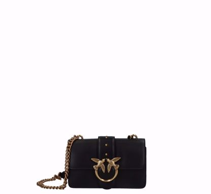 Pinko Mini Love Bag Icon Simply black gold