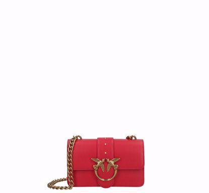 Pinko Mini Love Bag Icon Simply - Red