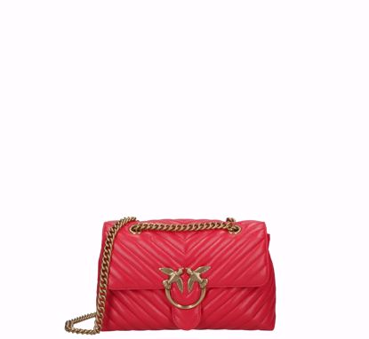 pinko Love Bag Puff Lady V Quilt - Red