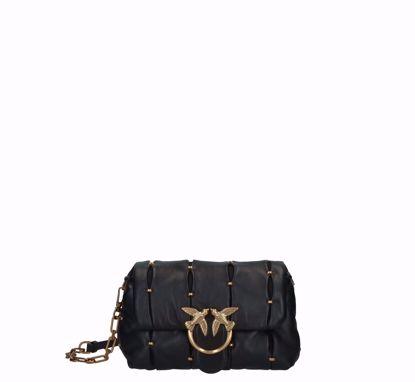 Pinko Love Bag Mini Puff Pinched black