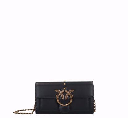 Pinko Love Wallet Simply black