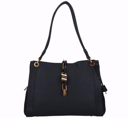 Liu Jo borsa shopping Regale nero, Liu Jo shopping bag Regale black
