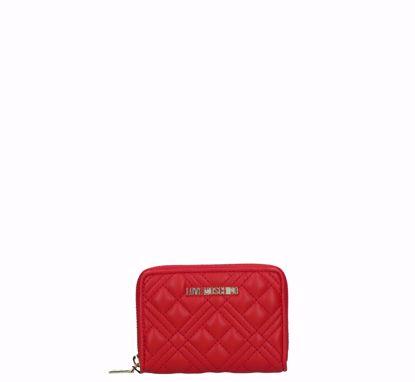 Liu Jo woman wallet Quilted Nappa red, Love Moschino portafogli donna mini Quilted Nappa rosso