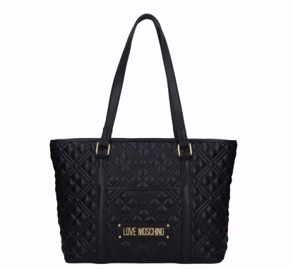 Love Moschino shopping bag M Quilted Nappa black