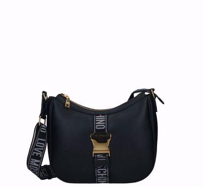 Love Moschino crossbody bag Fibbia black