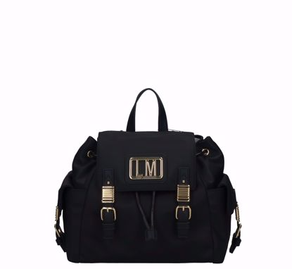 Love Moschino backpack LM Plaque black