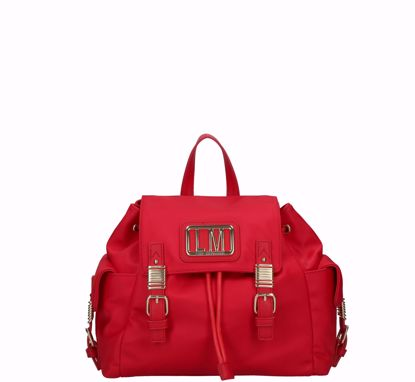 Love Moschino backpack LM Plaque red
