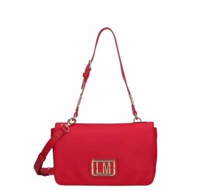 Love Moschino crossbody bag LM Plaque red