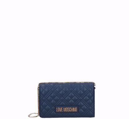 Love Moschino crossbody bag Quilted Nappa navy