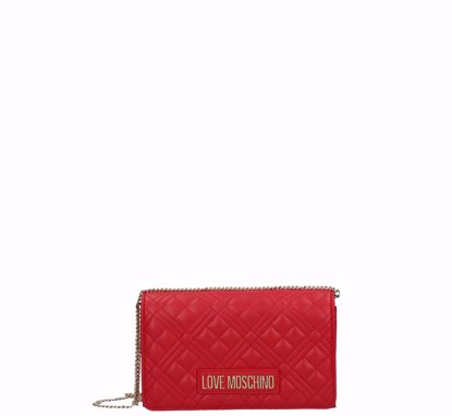Love Moschino crossbody bag Quilted Nappa red