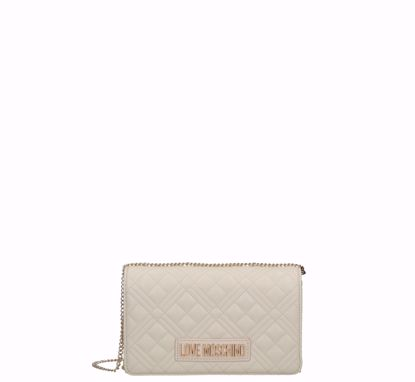 Love Moschino crossbody bag Quilted Nappa ivory