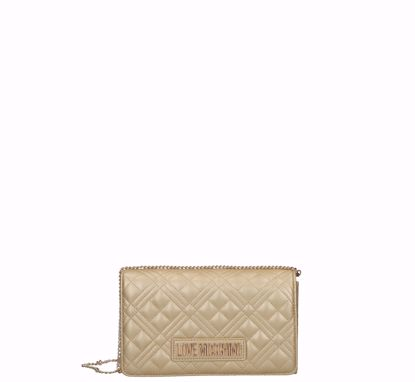 Love Moschino crossbody bag Quilted Nappa gold