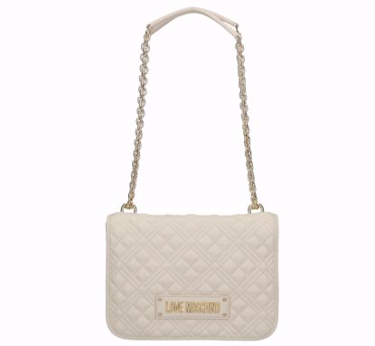 Love Moschino bag Quilted Nappa ivory