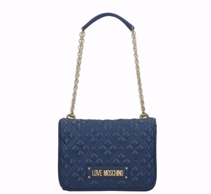 Love Moschino bag Quilted Nappa navy