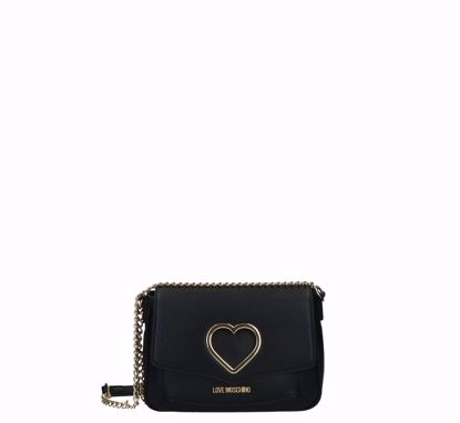 Love Moschino crossbody bag Grained black