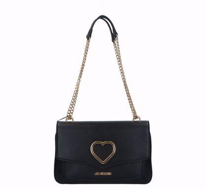 Love Moschino bag Grained black