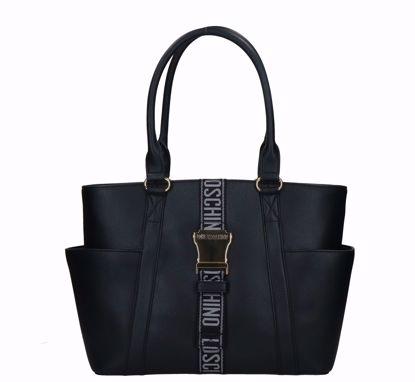 Love Moschino shopping bag Fibbia black