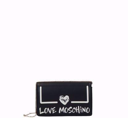Love Moschino crossbody bag Graffiti black