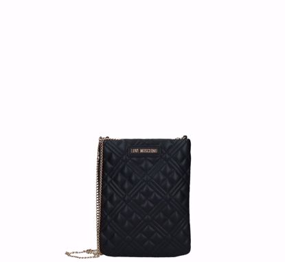 Love Moschino pochette bag Quilted Nappa black