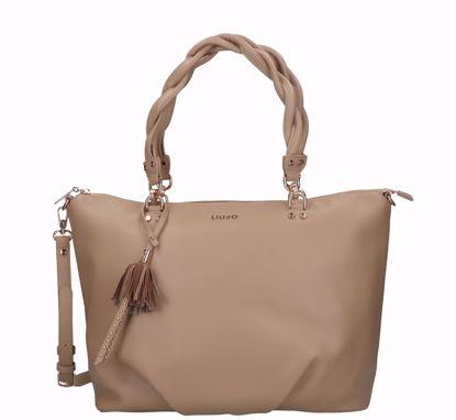 Liu Jo shopping bag Brava macadamia