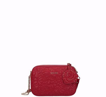 Liu Jo crossbody bag S Manhattan glossy red