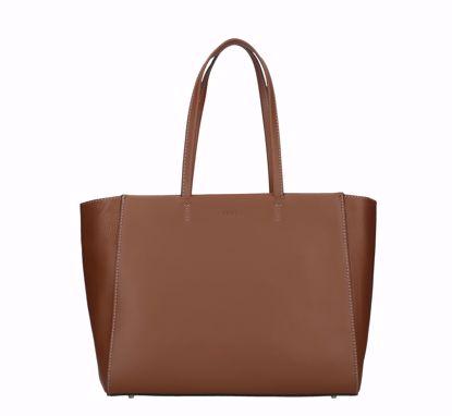 Furla shopping bag Regina cognac