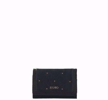 Liu Jo woman wallet with flap Contemporanea black