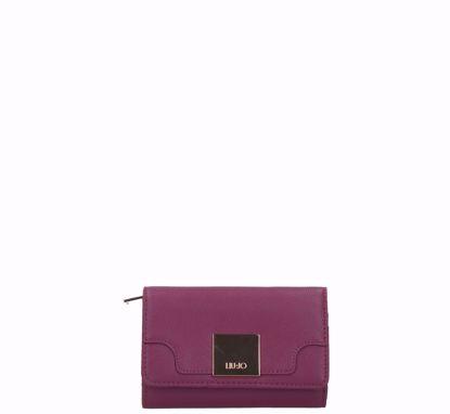 Liu Jo woman wallet with flap Interessante malvasia